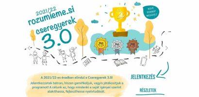 Indul a Cseregyerek – Rozumieme.si program 5. évada