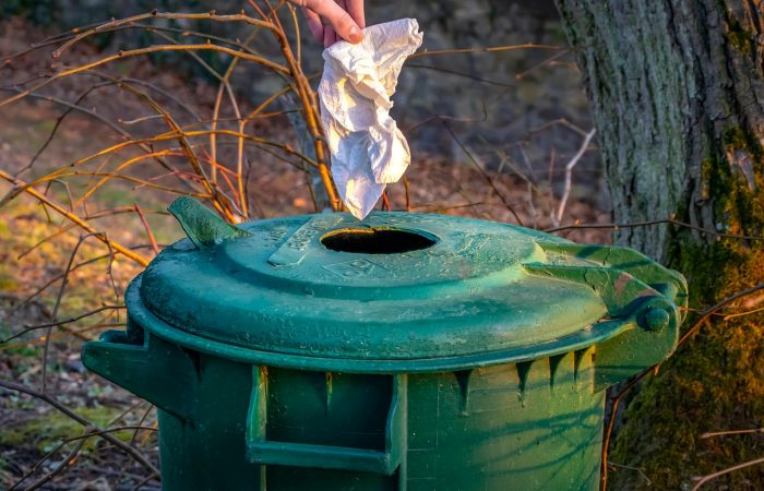 Kidobható a gyerek antigéntesztje a háztartási hulladékkal