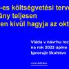 A Szlovák Pedagóguskamara állásfoglalása a költségvetéssel kapcsolatban